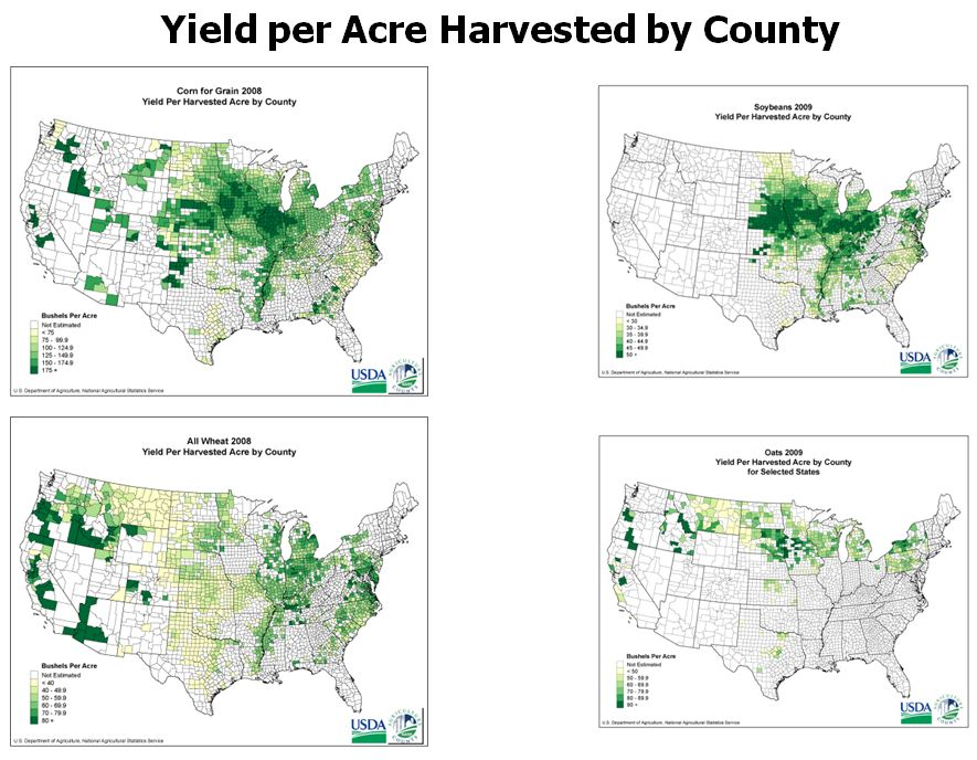 Wisconsin Ag History Wisconsin Corn Agronomy - Us wheat production map