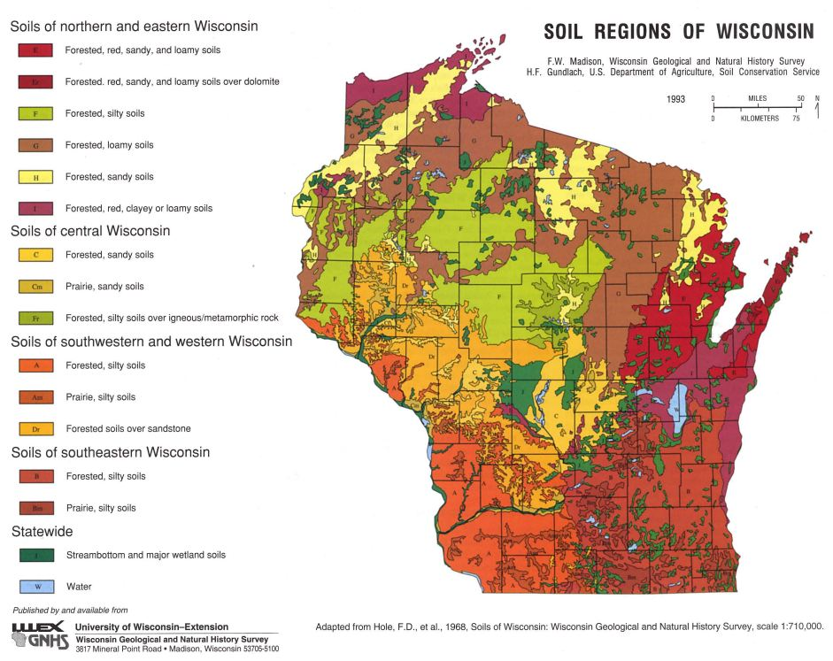 Wisconsin corn agronomy soils information for Soil pictures and information
